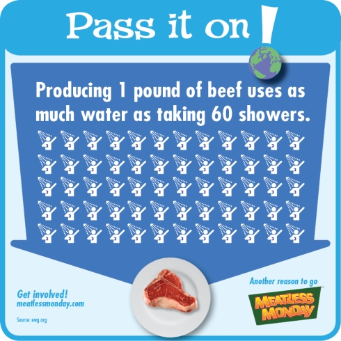 meatless monday earth day