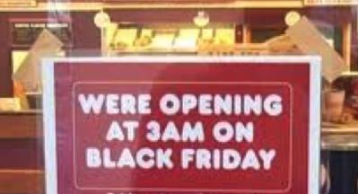 Black Friday Fail